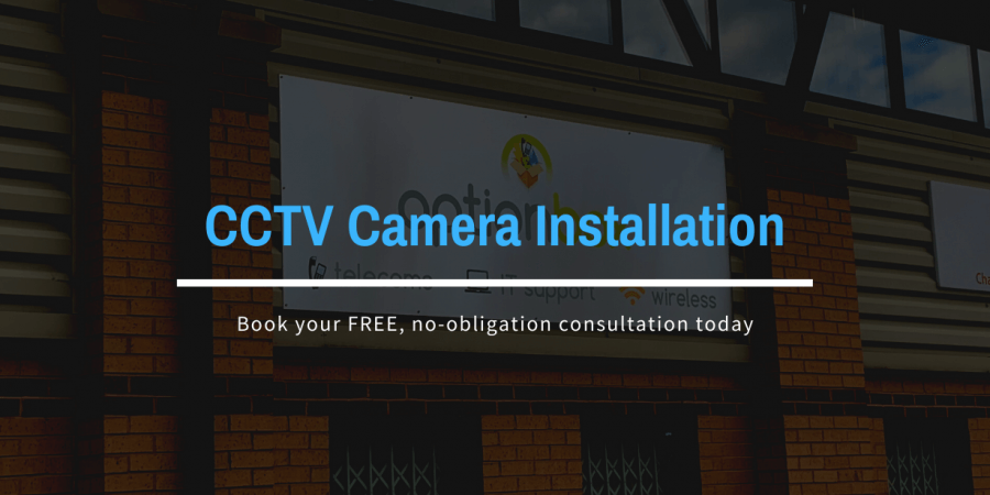 CCTV Camera Installation main blog post image