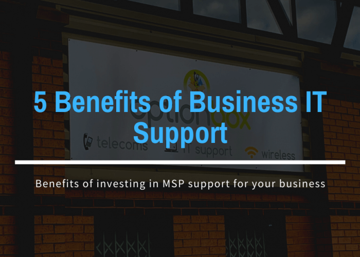5 Benefits of Business IT Support